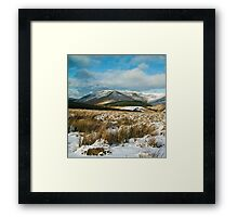 The Brecon Beacons Framed Print