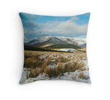 The Brecon Beacons Throw Pillow