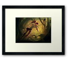 Twilight Hunt Framed Print