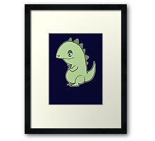 Lil' Dragon Framed Print