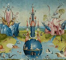 Hieronymus Bosch - Garden of Earthly Delights - Detail #3a by Chunga