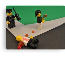 Lego Tranny Axe Murderer Canvas Print