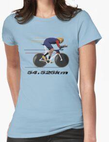 Wiggo Record Breaker Womens Fitted T-Shirt
