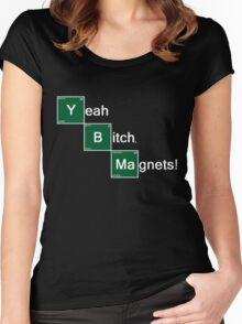 Yeah Bitch Magnets! Women's Fitted Scoop T-Shirt