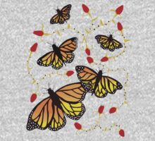 Butterflies and Roses  Kids Clothes