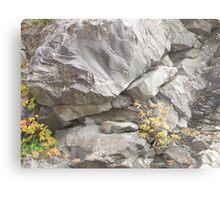 Smoky Mountain Abstract Metal Print