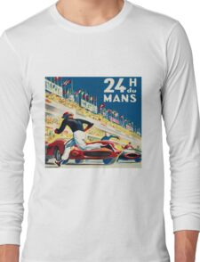 Vintage - 24 Hours of Le Mans (24 H du Mons) Long Sleeve T-Shirt