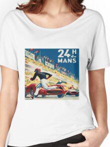 Vintage - 24 Hours of Le Mans (24 H du Mons) Women's Relaxed Fit T-Shirt