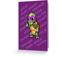 Squirtle Turtle - Donnie Greeting Card
