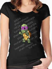 Squirtle Turtle - Donnie Women's Fitted Scoop T-Shirt