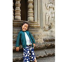 Cambodian Doll Photographic Print