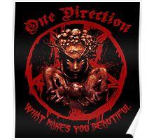 Boy Band Metal Shirt Poster