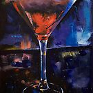 Backstage Martini by Michael Creese