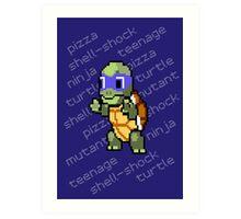 Squirtle Turtle - Leo Art Print