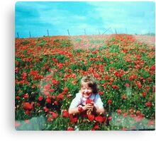 Oh Sweet Poppy Canvas Print