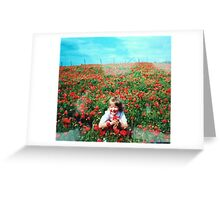 Oh Sweet Poppy Greeting Card