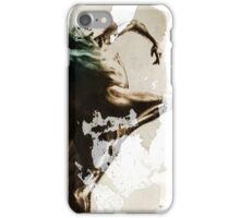 "Shadowtwister ""Dance"" conté drawing - textured v.3 iPhone Case/Skin"
