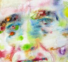 FRANKLIN D. ROOSEVELT - watercolor portrait Sticker