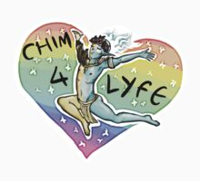 CHIM 4 LIFE - Thank u based vehk Kids Clothes
