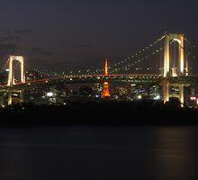Tokyo Skyline by Luke Stephensen