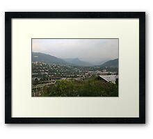 an awesome Armenia landscape Framed Print
