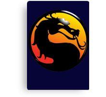 Fighting Dragon Canvas Print