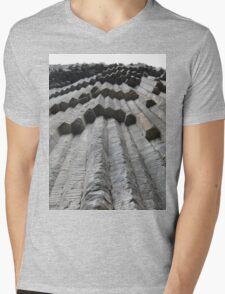 a desolate Armenia landscape Mens V-Neck T-Shirt