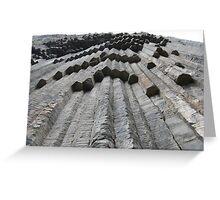 a desolate Armenia landscape Greeting Card