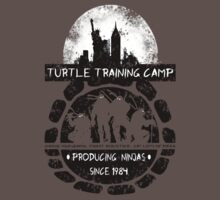 Turtle Training Camp by Vitalitee