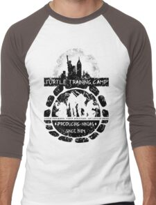 Turtle Training Camp Men's Baseball ¾ T-Shirt