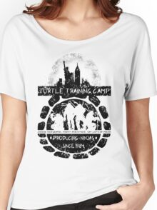 Turtle Training Camp Women's Relaxed Fit T-Shirt