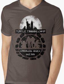 Turtle Training Camp Mens V-Neck T-Shirt
