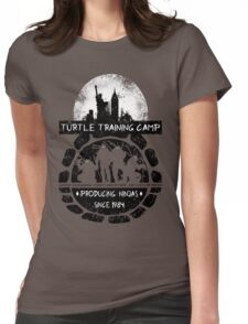Turtle Training Camp Womens Fitted T-Shirt