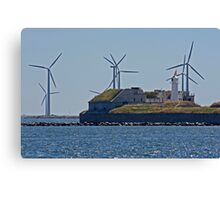 Defence & Windmills Canvas Print