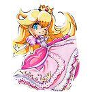 Chibi Princess Peach by Pixel-League