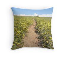 Daisy Trail Throw Pillow