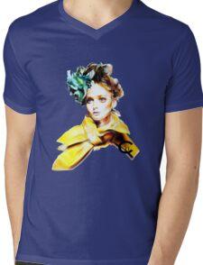 Daisy C+n Mens V-Neck T-Shirt
