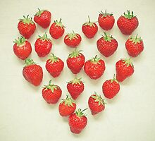 I Love Strawberries by Cassia Beck