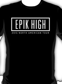 Epik High - North america tour T-Shirt