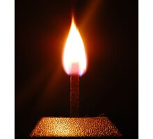Silent Flame Photographic Print