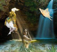 Pure waterfall by NadineMay