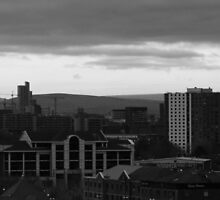 Manchester Skyline by DMHotchin
