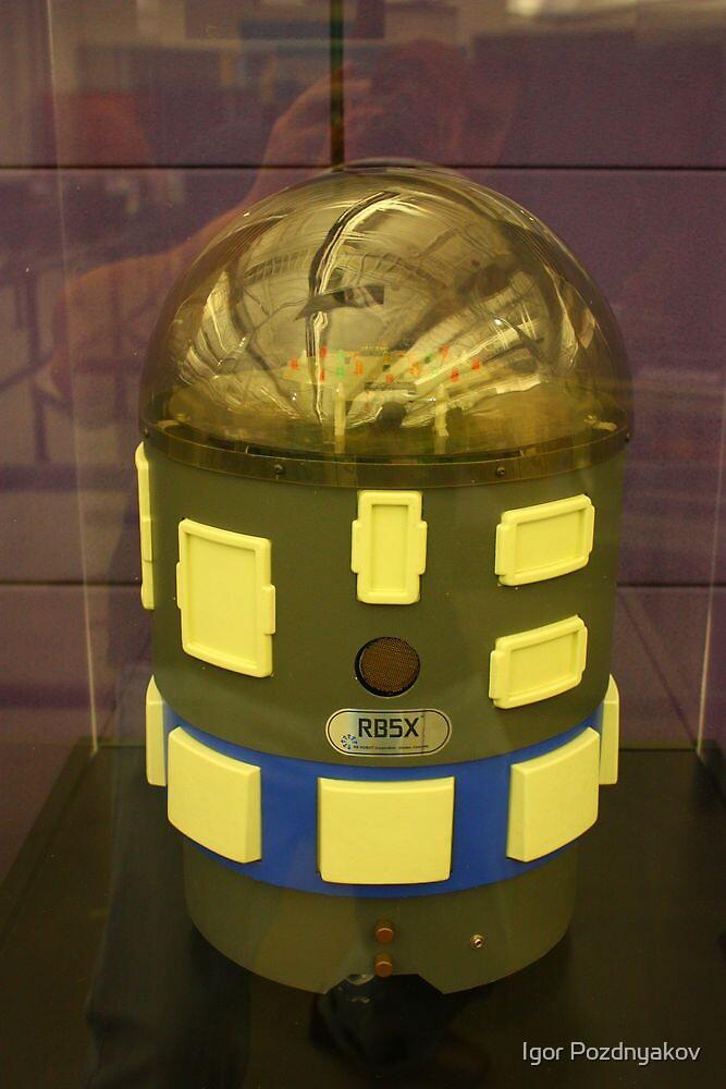 "RB5X Robot: ""R2D2, I am your Father..""  by Igor Pozdnyakov"