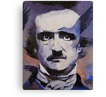 Portrait of Edgar Allan Poe Canvas Print