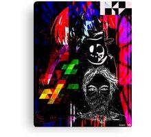 ninjas digital art  Canvas Print