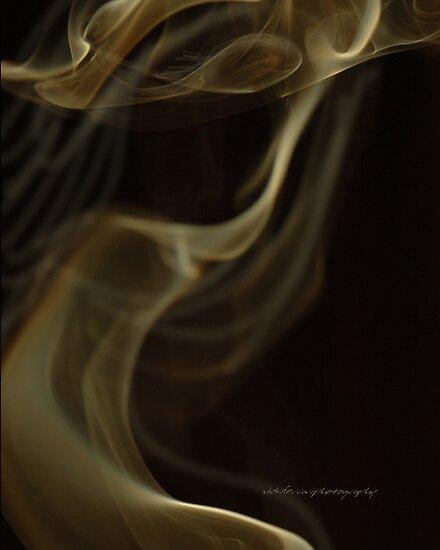 Lady In The Smoke © Vicki Ferrari Photography by Vicki Ferrari
