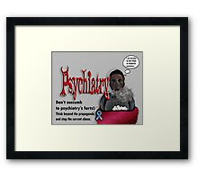 Psychiatry's farts Framed Print
