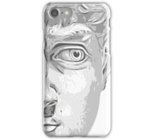 Head of David, (Michelangelo) iPhone Case/Skin
