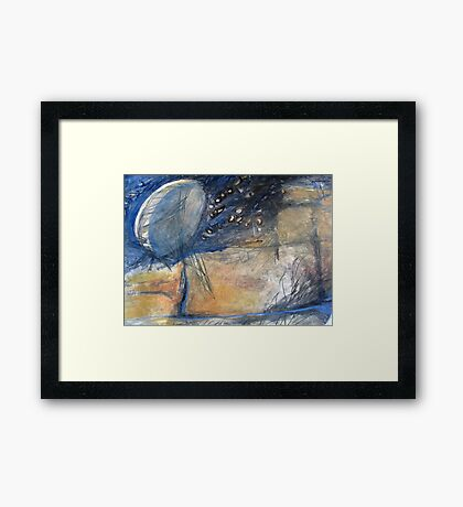 The moon & stars are within  Framed Print