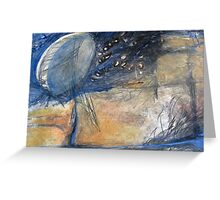 The moon & stars are within  Greeting Card